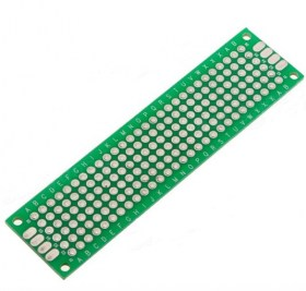 HR0328  Double-side Prototype PCB Tinned 2x8cm